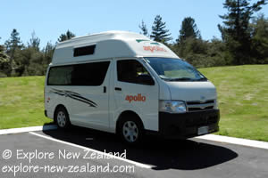 2-3 Berth Campervan Rental New Zealand