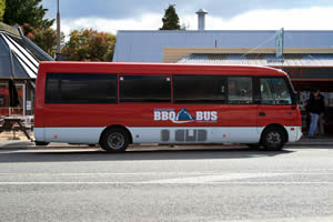 BBQ Bus, Te Anau, New Zealand