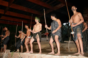 Mitai Maori Village Haka