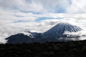Mt Ruapehu Tongariro National Park New Zealand