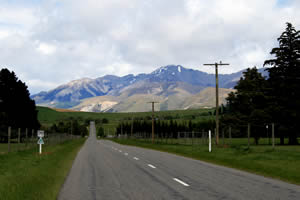 South Island road travel, New Zealand
