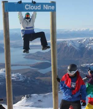 Cloud Nine, Snowboarding, New Zealand