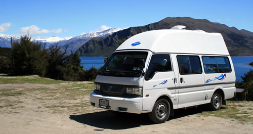 Campervan New Zealand Camping Site