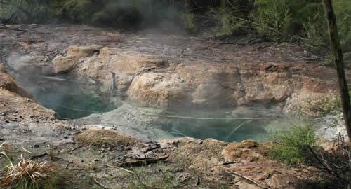 Tokaanu Hot Springs New Zealand