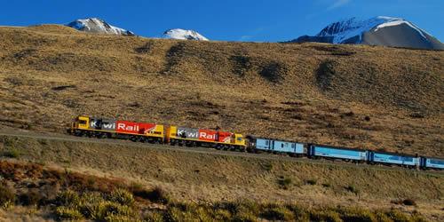 TranzAlpine, South Island - Photographer: Roy Sinclair