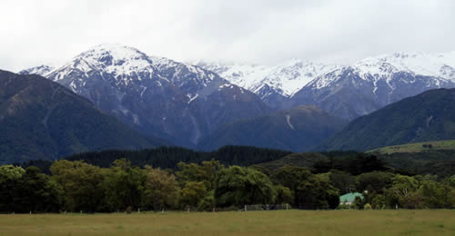 Southern Alps New Zealand Travel, Canterbury, South Island, View from East