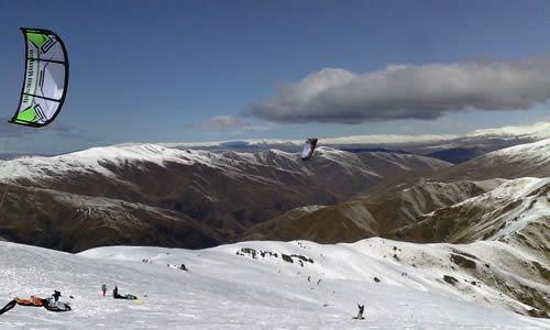 New Zealand Snowkiting