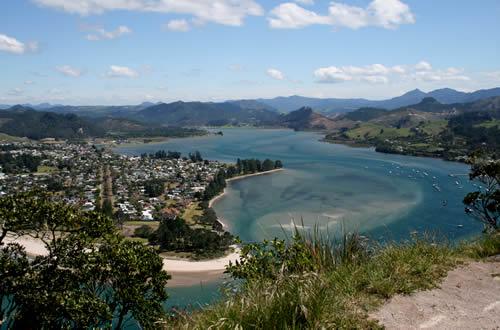 Coromandel Peninsula, Mount Paku View