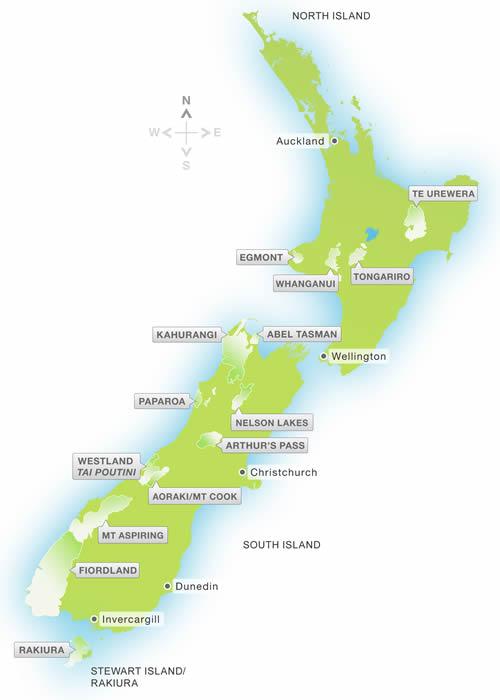 Fiordland National Park New Zealand Weather New Zealand National Parks