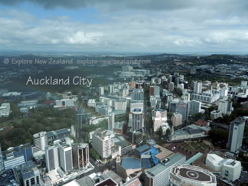 Auckland City Urban Population of New Zealand