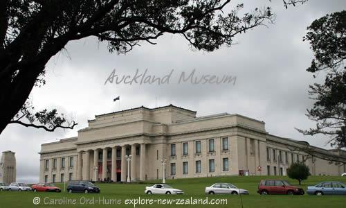 Auckland War Memorial Museum Heritage Building, The Auckland Domain