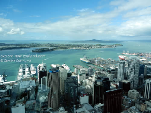 Auckland Central City Region Devonport Rangitoto Island New Zealand