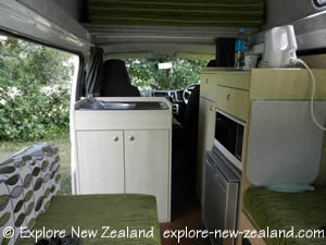 Campervan Without Shower and Toilet