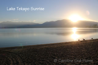Lake Tekapo Sunrise - Canterbury Mackenzie Country