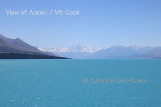Mt Cook / Aoraki - Canterbury Mackenzie Country