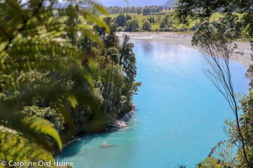 Hokitika Gorge Walk View of Kowhitirangi Farming Country, West Coast, New Zealand