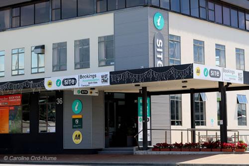 Hokitika i-SITE Visitor Information Centre on Weld Street, Hokitika, New Zealand