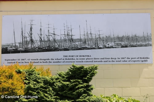 The Port of Hokitika Photograph, Historic Hokitika Ships, Gold Rush New Zealand