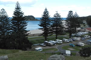 Mount Maunganui Domain Motor Camp