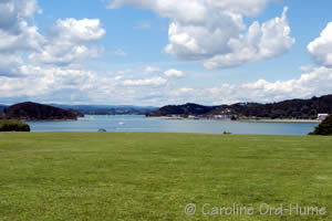 View Across Bay to Paihia Bay of Islands Northland