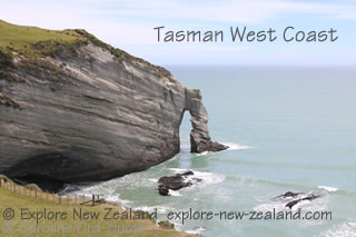 Tasman West Coast Cliff, Cape Farewell