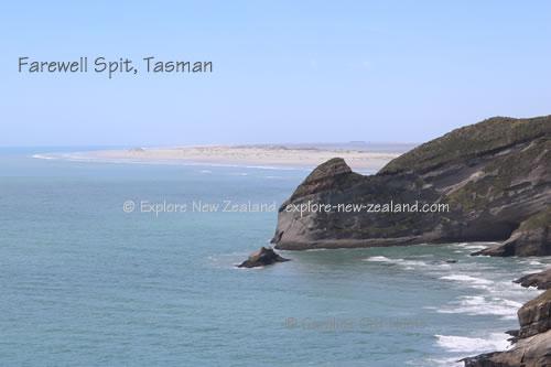 Farewell Spit, Tasman, New Zealand