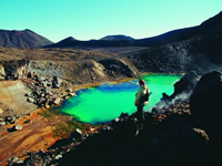 Tongariro Crossing scenery. Photographer: Rob Suisted