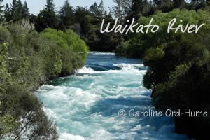 Waikato River Huka Falls