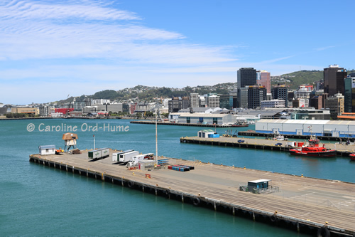 Wellington City Docks, New Zealand