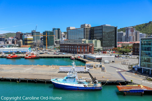 Waterloo Quay, Wellington Railway Station, Wellington Transport New Zealand, Wellington City harbour buildings