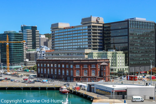 Wellington New Zealand City Harbour, Lady Elizabeth Lane, Waterloo Quay Buildings