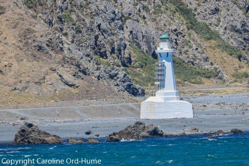 Wellington Harbour Pencarrow Coast Road Lighthouse, North Island New Zealand