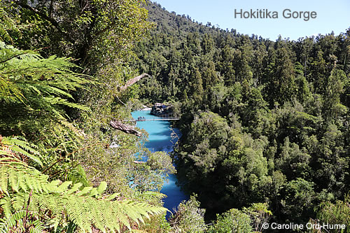 Hokitika Gorge, West Coast, South Island, New Zealand