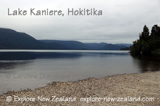 Lake Kaniere, Hokitika, West Coast, South Island, New Zealand