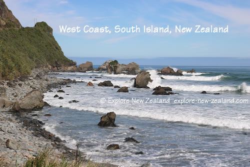 West Coast, South Island, Westland New Zealand