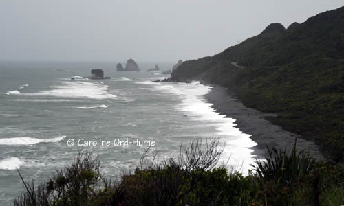 Rugged and Wild West Coast Weather on the South Island of New Zealand