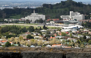 Auckland Racecourse Racecourse View from Mangere