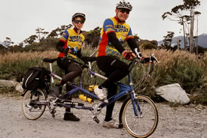Tandem Biking with Style, New Zealand - Photographer: Roy Sinclair
