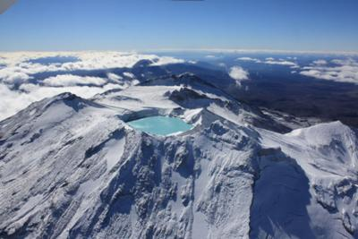 Tongariro National Park from Above by Lee Bee