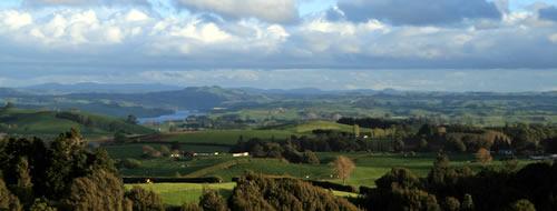 Maungatautari mountain view