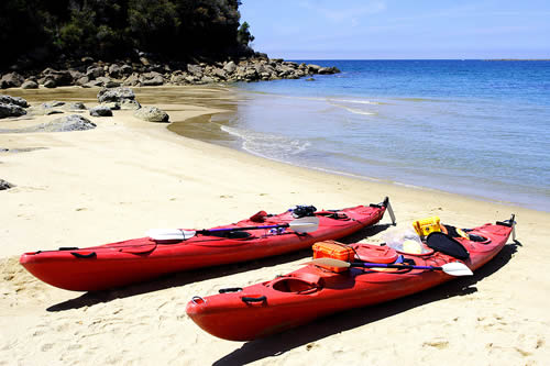 Kayaking, Abel Tasman National Park, New Zealand
