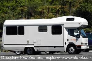 6 Berth Motorhome in New Zealand