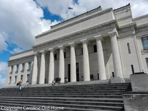 Auckland War Memorial Museum Entrance New Zealand History and Heritage