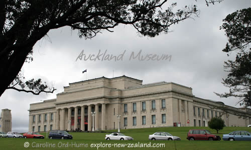 Auckland War Memorial Museum Heritage Building, The Auckland Domain