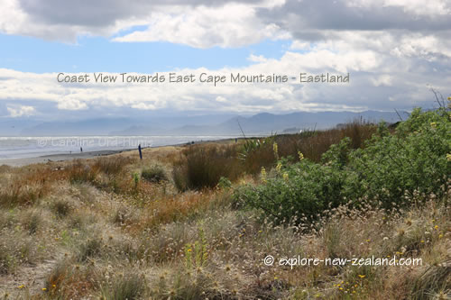 Eastland East Cape View of Mountains