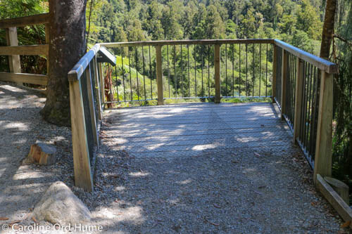 Viewing Platform Overlooking Hokitika River - Part of the Boardwalk, New Zealand