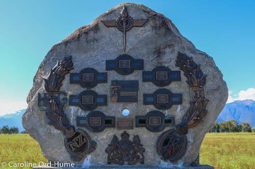 Koiterangi Incident Memorial Boulder, Kowhitirangi, Hokitika, West Coast, South Island, New Zealand