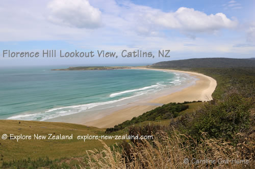 Florence Hill Lookout, Catlins, New Zealand