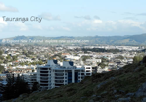 Tauranga City Urban Population Bay of Islands New Zealand