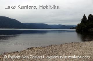 Lake Kaniere, Hokitika, West Coast, South Island, New Zealand